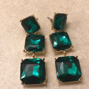 Emerald (Costume) Earrings
